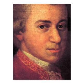 Carte Postale Wolfgang Amadeus Mozart