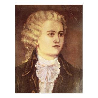 Carte Postale Wolfgang Amadeus Mozart pendant son séjour