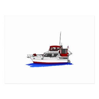 Carte Postale Yacht
