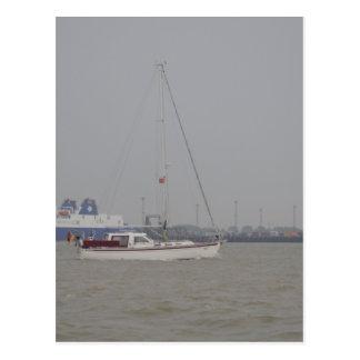 Carte Postale Yacht Yara