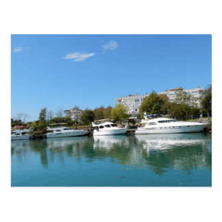 Carte Postale Yachts en Turquie