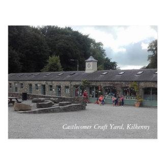 Carte Postale Yard de métier de Castlecomer, Kilkenny