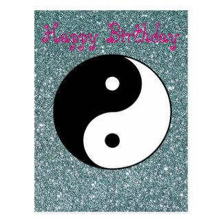 Carte Postale Yin et Yang