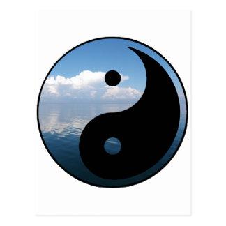 Carte Postale yin yang-1