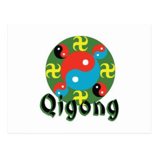 Carte Postale Yin Yang Qigong