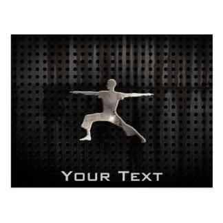 Carte Postale Yoga ; Noir frais