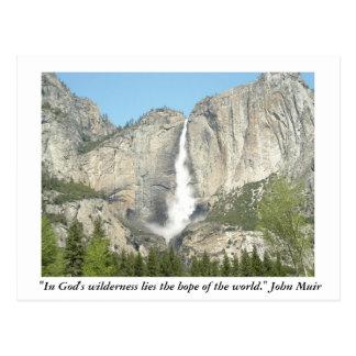 Carte Postale Yosemite