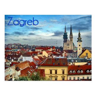 Carte Postale Zagreb