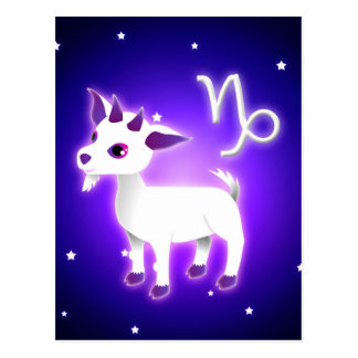 Carte Postale Zodiaque mignon de Capricorne
