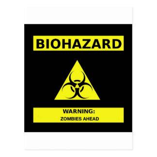 Carte Postale Zombi de Biohazard