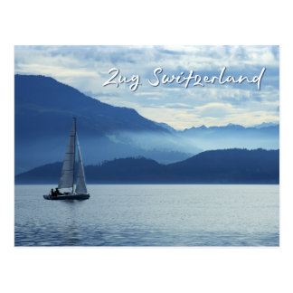 Carte Postale Zug, Suisse