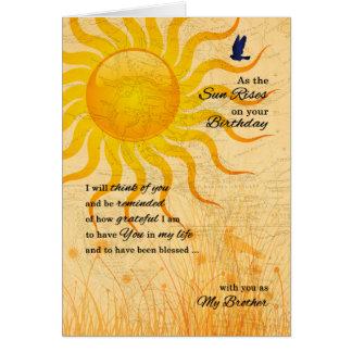 Carte pour le lever de soleil sentimental de