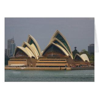Carte pour notes australien de théatre de l'opéra