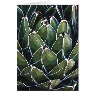 Carte pour notes d'agave de la Reine Victoria