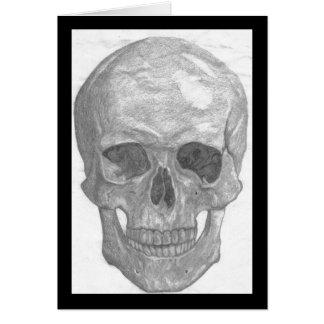 Carte pour notes de crâne