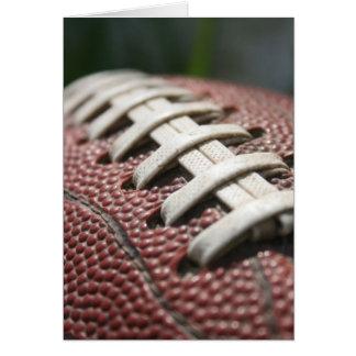 Carte pour notes polychrome du football