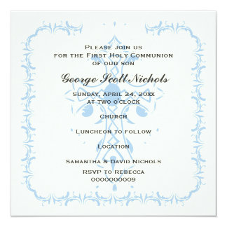 Invitation communion personnalisables sur Zazzle