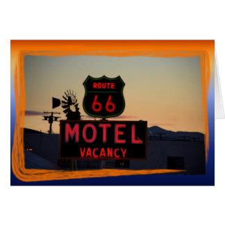 Carte Prenez un voyage sur l'itinéraire 66