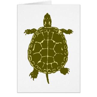 Carte Présent de cadeau d'océan de mer de Shell de
