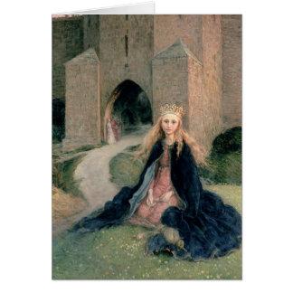 Carte Princesse avec un axe