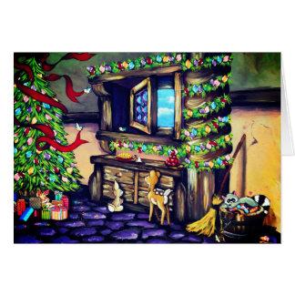 Carte Princesse Cottage Card de vacances