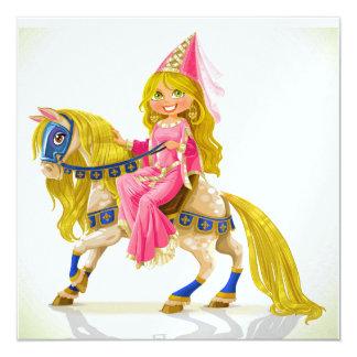 Carte Princesse de la version 2 à l'invitation de cheval