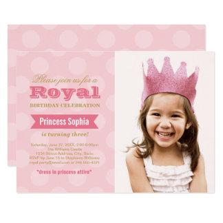 Carte Princesse de l'invitation   de fête d'anniversaire