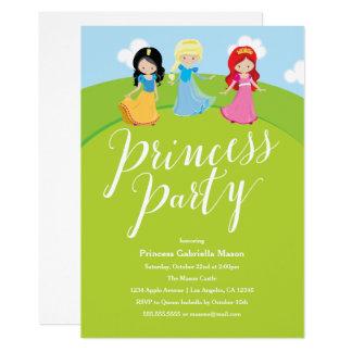 Carte Princesse Party