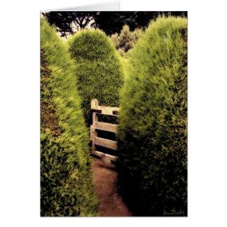 Carte Promenade de labyrinthe