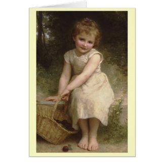 Carte Prunes - William-Adolphe Bouguereau