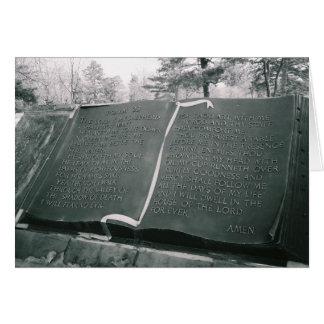 Carte Psaume