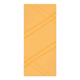 Carte Publicitaire Crissed jaune-orange croisé