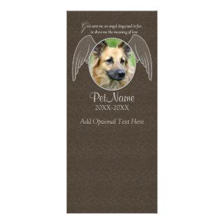 Carte Publicitaire Dieu envoyé une coutume de sympathie d'animal
