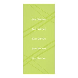 Carte Publicitaire Glycines/Crissed vert jaunâtre croisé