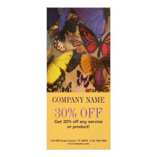 Carte Publicitaire Papillon curatif holistique de zen de Bohème de