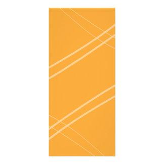 Carte Publicitaire YellowOrangeInverted Crissed croisé