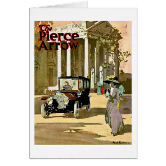 Carte Publicité de cru de flèche de Pierce