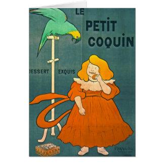 Carte Publicité française vintage 1900