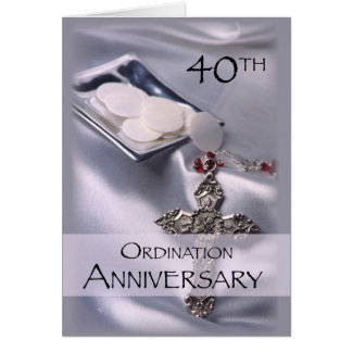 Carte quarantième Félicitations d'anniversaire de