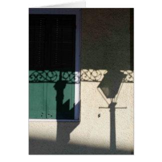 Carte Quartier français d'ombre de lanterne, NOLA