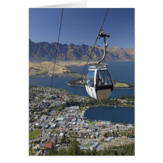Carte Queenstown, Nouvelle Zélande
