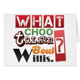 Carte Quel accès Willis de talkin de choo ?