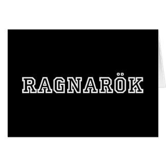 Carte Ragnarok