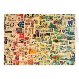 Carte Rainbow Stamps