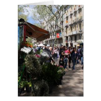 Carte Rambla, Barcelone