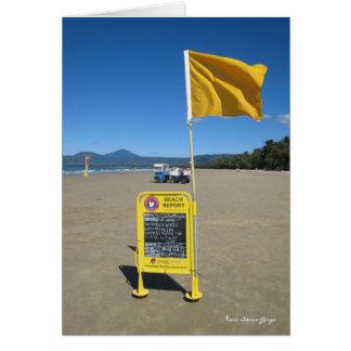 Carte Rapport australien de plage