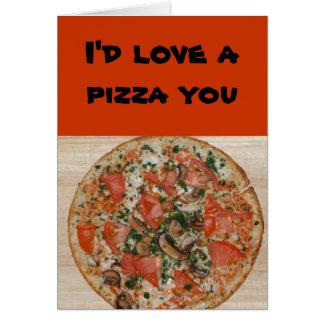 Carte Rapport/datation - j'aimerais une pizza vous