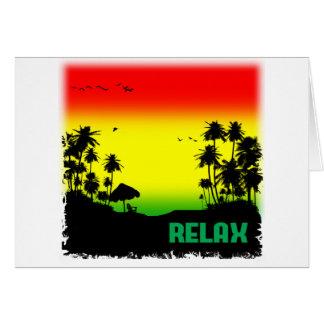 Carte rasta de relaxation