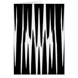 Carte Rayure de zèbre de BOIS D'ÉBÈNE ET d'IVOIRE