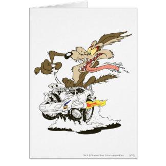 Carte Regard d'E. Coyote Crazy de Wile